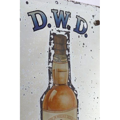 24 - DWD WHISKEY ORIGINAL MIRROR