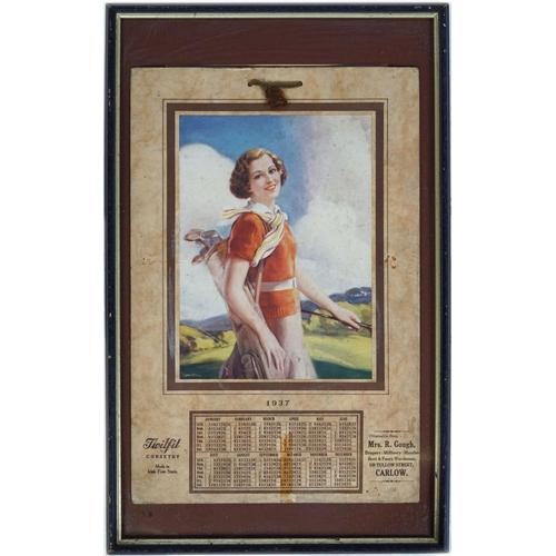 32 - TWILFIT CORSETRY 1937 CALENDAR