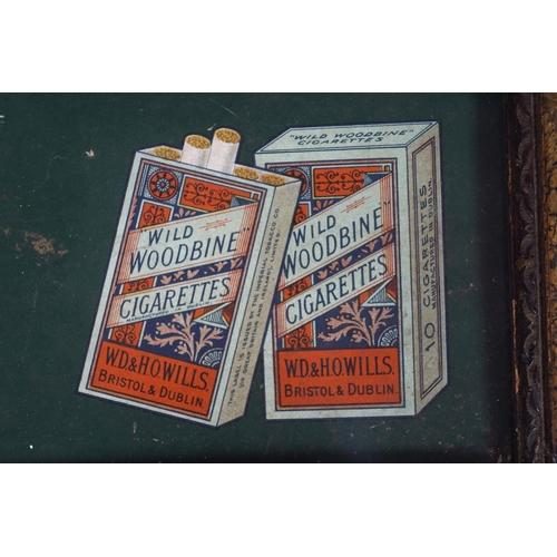 37 - WILLS'S WOODBINE CIGARETTES ORIGINAL POSTER