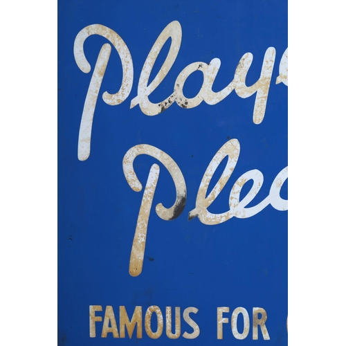 41 - PLAYER'S PLEASE ENAMELLED SIGN