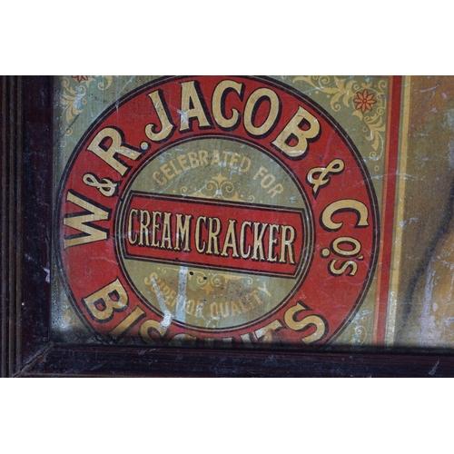 42 - W & R JACOB & CO. ORIGINAL VINTAGE POSTER