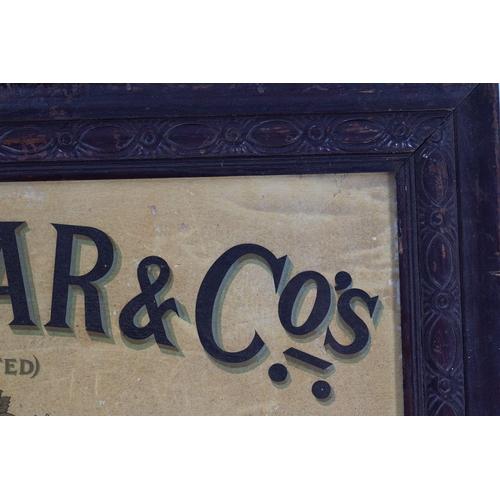 46 - A. MILLAR & CO'S CORDIALS ORIGINAL POSTER
