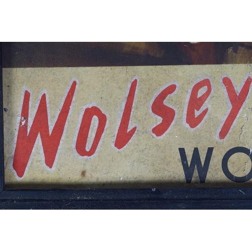 47 - WOLSEY WOOLS ORIGINAL VINTAGE POSTER