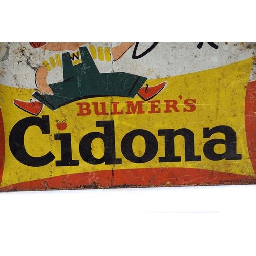 49 - DRINK BULMER'S CIDONA ORIGINAL SIGN