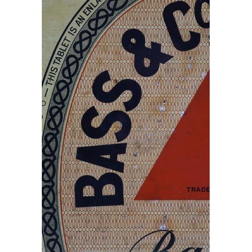 50 - BASS & CO'S PALE ALE ORIGINAL VINTAGE POSTER