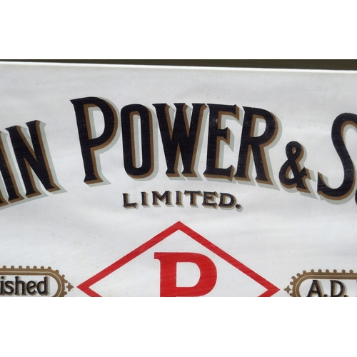 6 - JOHN POWER & SON ORIGINAL POSTER