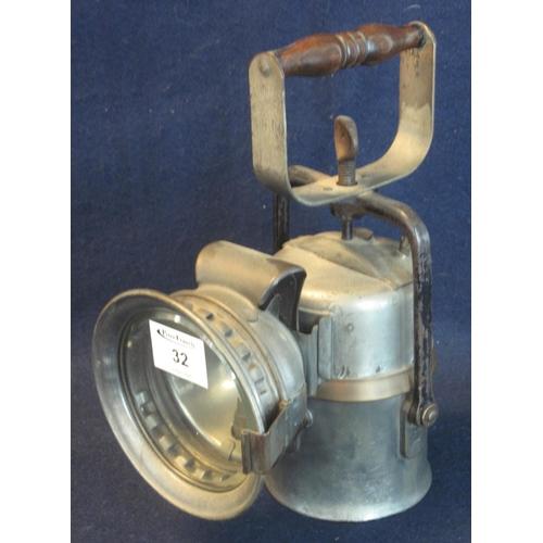 32 - A British Railways Midland Region Crestella Engineering Company Ltd 'The Premier Lamp, Railwayman's ...