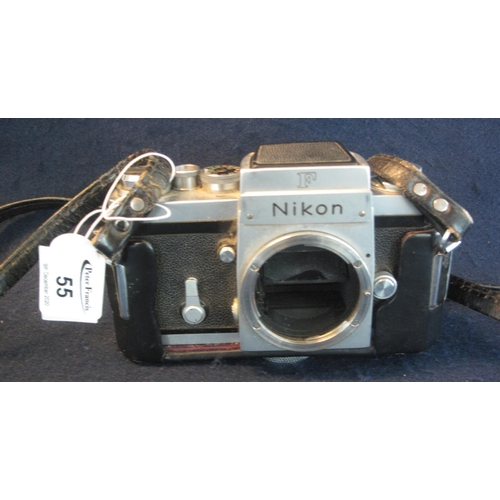 55 - Nikon 35mm SLR camera body. (B.P. 21% + VAT)...