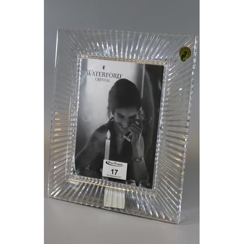 17 - Waterford crystal 'Somerset' 5