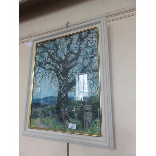 23 - Framed Pastel