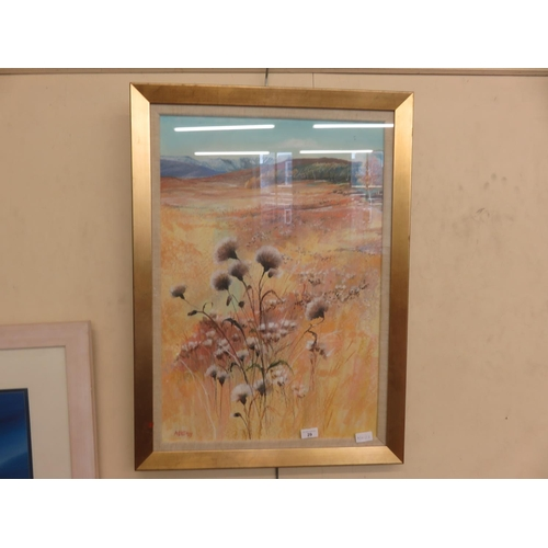 29 - Framed Acrylic Painting