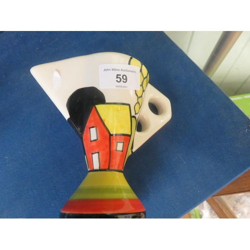59 - Crown Devon Deco Milk Jug
