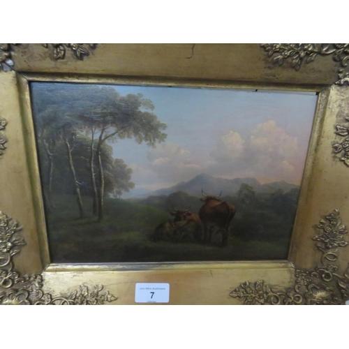7 - Gilt Framed Oil Painting