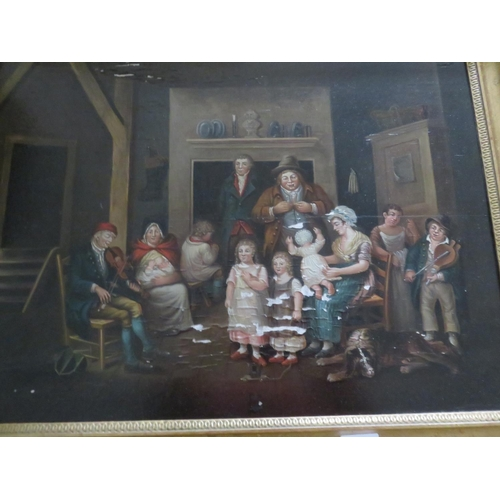11 - Early 19th Century Framed Oil Painting
