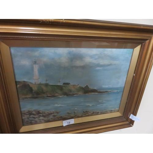 12 - Framed Oil Painting