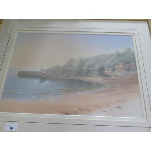 16 - Two Coastal Scenes, Diana Bowman & Gerald Palmer