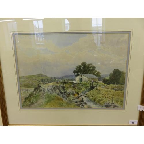 18 - Framed Watercolour