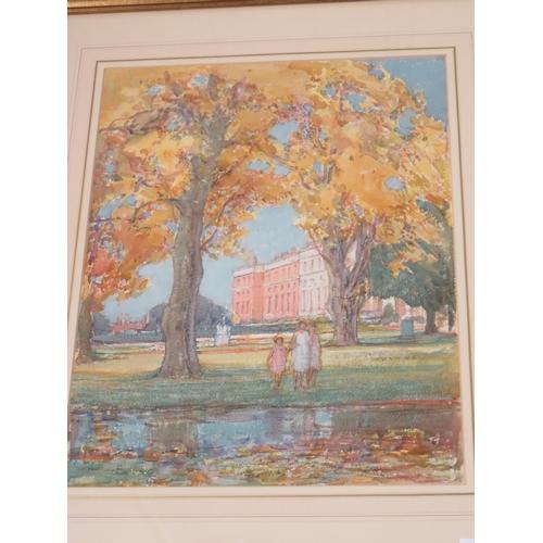 22 - Framed Pastel