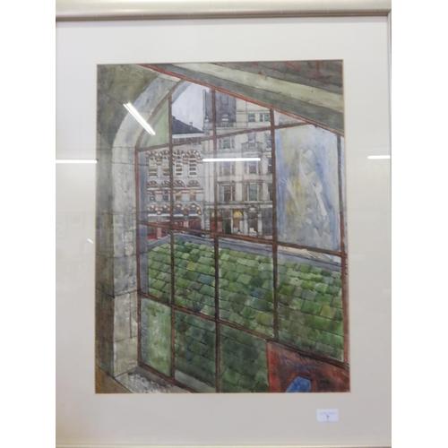 7 - Framed Watercolour