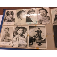 Extensive Autograph Album US, British and European Stars of the Mid 20th Century