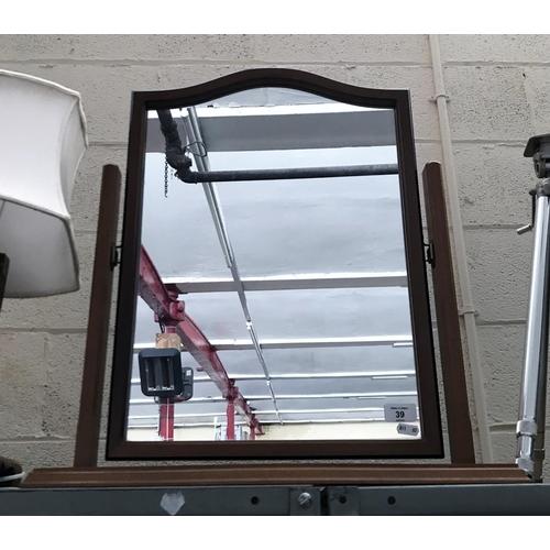 39 - Dressing table vanity mirror...