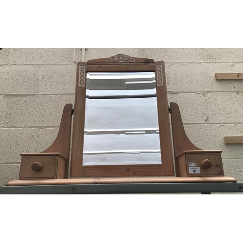 50 - Dressing table vanity mirror