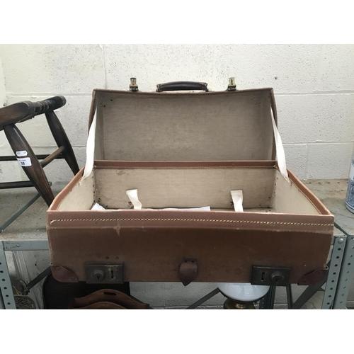 45 - Vintage 'Crescent' suitcase