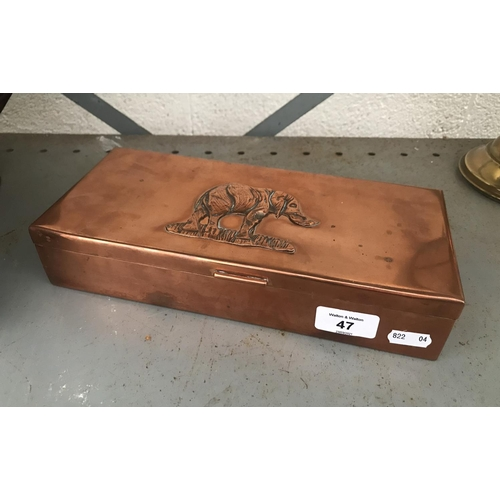 47 - Copper box