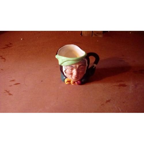 54 - Royal Doulton Sairey Gamp small toby jug perfect...