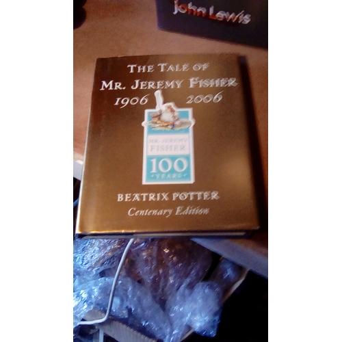 21 - Beatrix Potter The Tale Of Mr Jeremy Fisher 1906 - 2006 Centenary Edition Hardback Book....