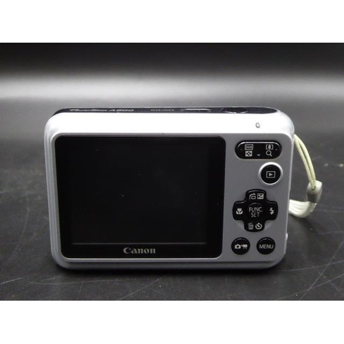 4 - Canon Power Shot A800 Digital Camera & Case, Tested...