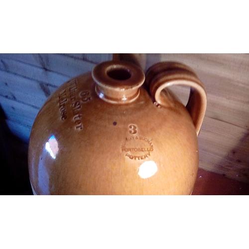 2 - Very Rare Portobello Pottery Very Large Walter Slater Melrose Size 3 Flagon...