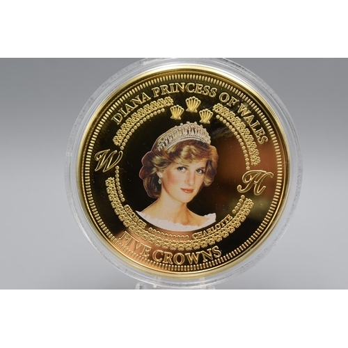 22 - LOVELY  Limited Edition Collectible Five Crown Coin, 3