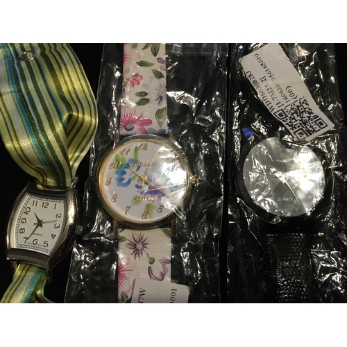25 - TWO NEW WATCHES AND A DESIGNER BOW WATCH...