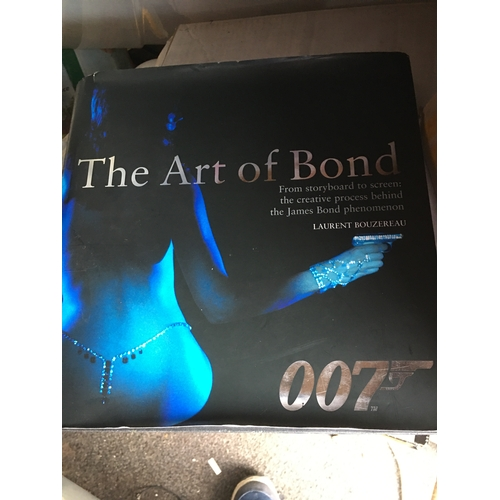 51 - THE ART OF BOND COFFEEE TABLE BOOK