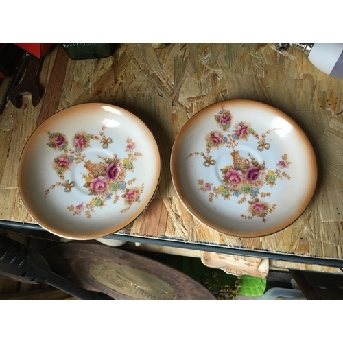 18 - LOVELY SMALL PAIR OF DEVON WARE PLATES