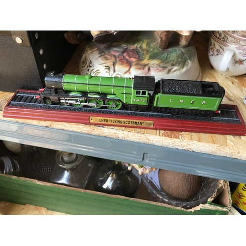 22 - BRILL FLYING SCOTSMAN MODEL TRAIN