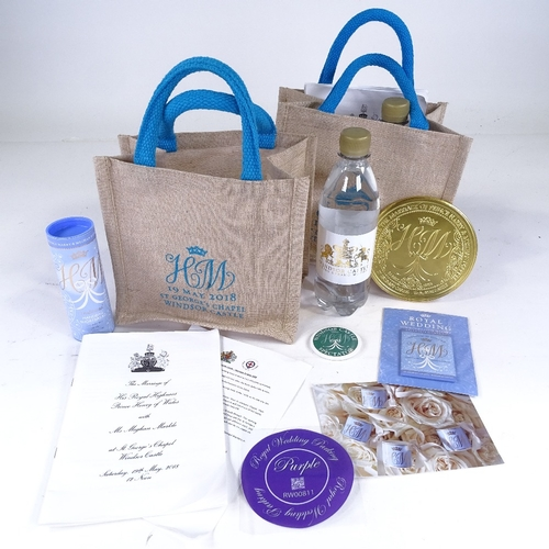 369 - 2 Hospitality bags from the wedding of Harry and Meghan 19th May 2018...