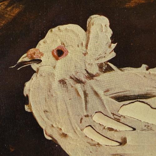 1197 - Pablo Picasso, 1940s mixed media lithograph, design for a ceramic dish, image 9.5