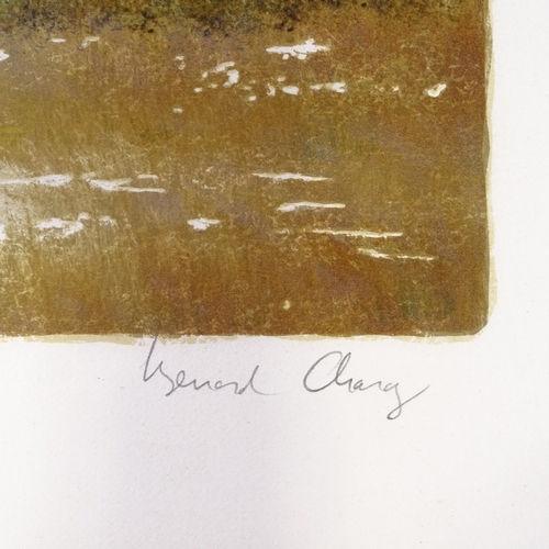 1199 - Bernard Charoy, 3 lithographs, landscapes, signed in pencil, image 18
