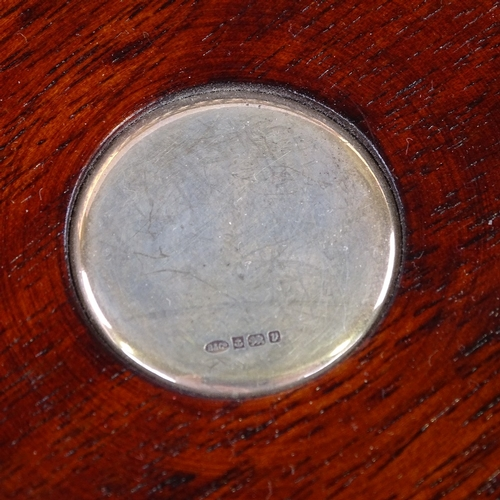 693 - Various silverware, including pair of Georgian sugar tongs, modern silver wine coaster, sugar sifter...