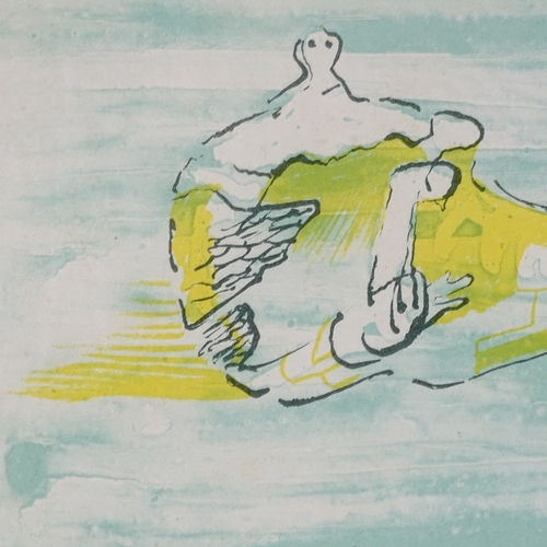 1044 - Henry Moore, proof lithograph, Figures Allongees, 1971, published for XXE Siecle, sheet size 12