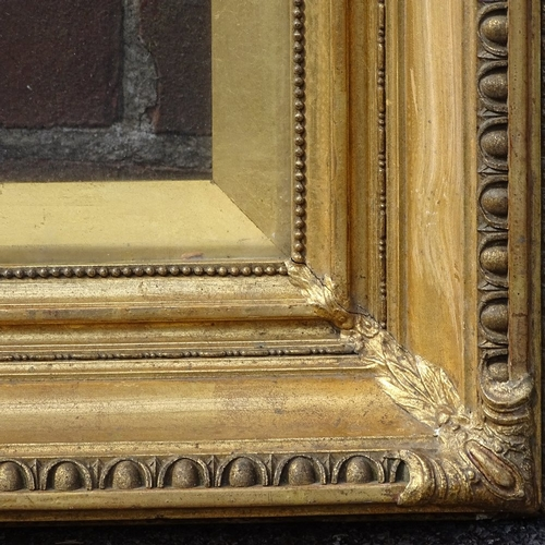 1083 - Late 19th/early 20th century gilt-gesso frame, rebate size 22