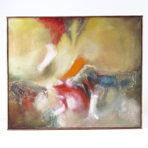 1100 - Aubrey Williams, oil on canvas, Expression V, signed and dated '64, 20