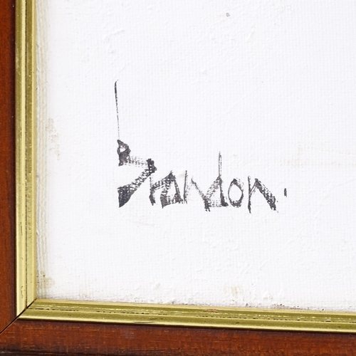 1243 - Brandon, oil on canvas, English Civil War, signed, 20