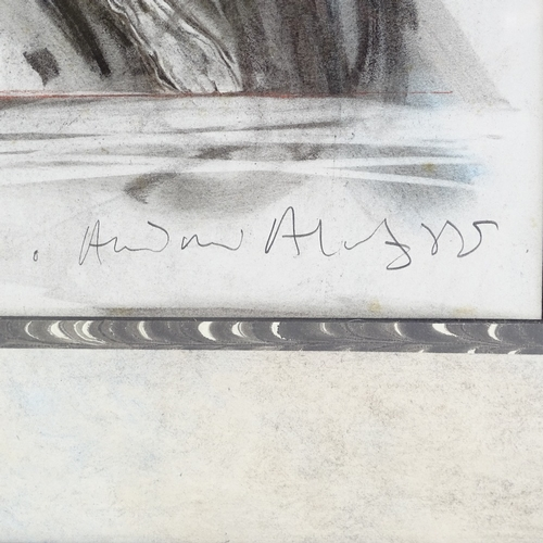 1276 - Andrew Aloof (Royal Ballet Artist in Residence), graphite drawing, ballet dancer, signed, image 22