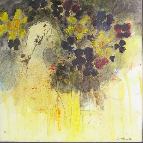 1322 - Leo McDowell RI, 2 watercolours, abstract still lives, 11