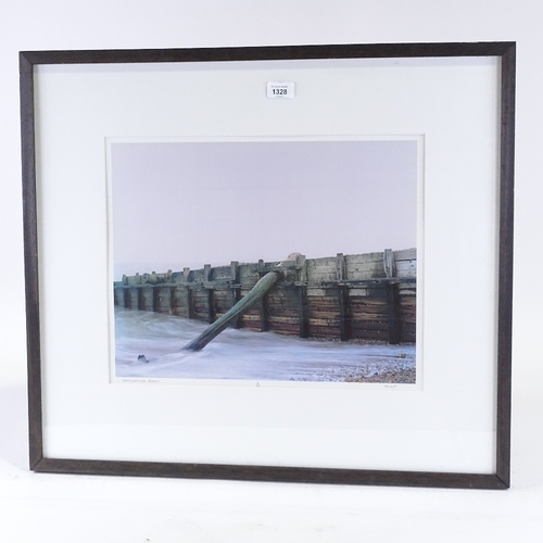 1328 - Will Hulf, photograph, Winchelsea Beach, signed in pencil, from an edition of 25 copies, image 14