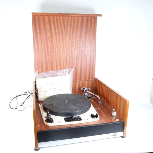 1 - GARRARD - a Vintage model 301 Transcription Motor turntable, schedule no. 51400/2, with SME model 30...