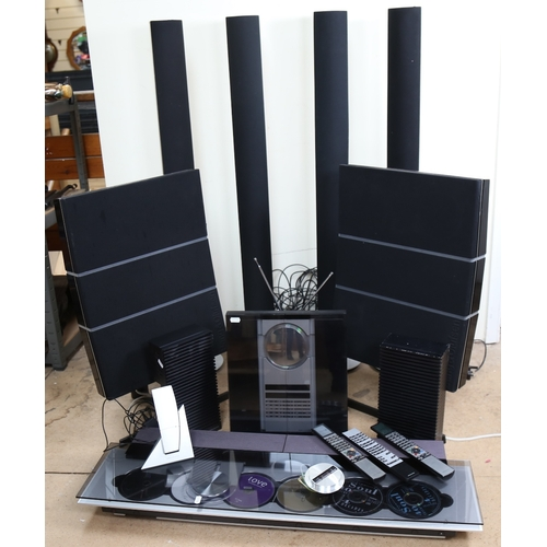 3 - BANG & OLUFSEN (B&O) - an extensive home entertainment Hi-Fi system, comprising BeoSound 9000, BeoSo...